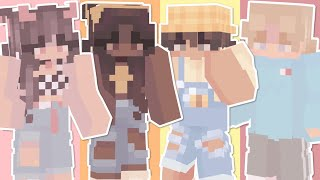 20 Cute & Aesthetic Minecraft Skins For Girls And Boys! 💙❤️
