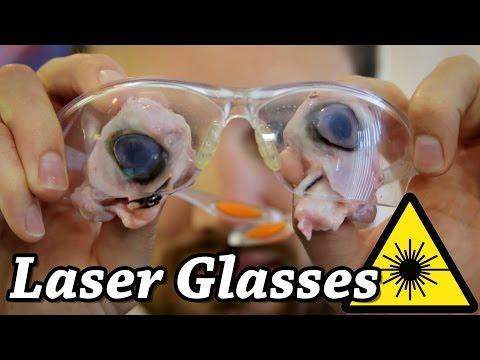 Safety Glasses vs CO2 Laser Glasses