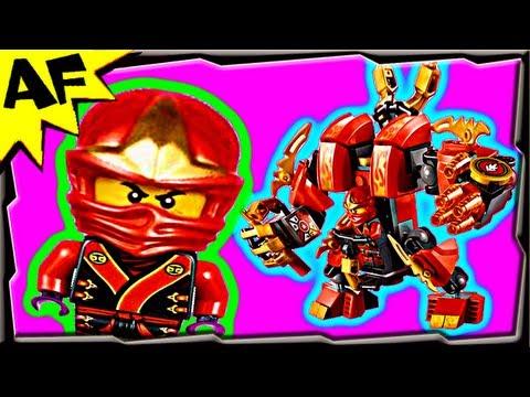 Vidéo LEGO Ninjago 70500 : Le robot de feu de Kai