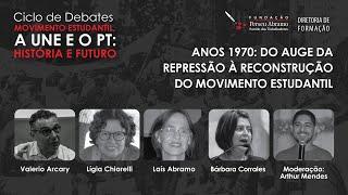 #AOVIVO | Anos 1970: Do Auge da Repressão à Reconstrução do Movimento Estudantil