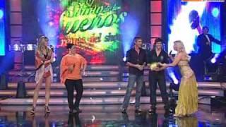 Guerra de coros: Anna Carina vs Jean Paul Strauss (Reyes del Show PERU 21-11-09)