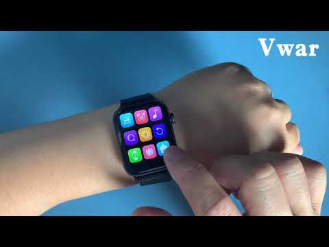 "UNBOXING! Vwar Max Smart Watch 1.78"" Big Screen, copy apple watch Series 5 iwo12 pro?"