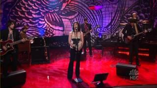 Alanis Morissette - Perfect (Acoustic) - Leno Tonight Show [07-25-2005]