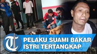 Bakar Istrinya Hidup-hidup, Pelaku Ditangkap saat Kabur ke Rembang