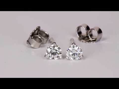Diamond Earrings .26 Carat