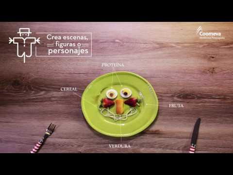 Alimentación sana y divertida para niños - Reto Saludable #10