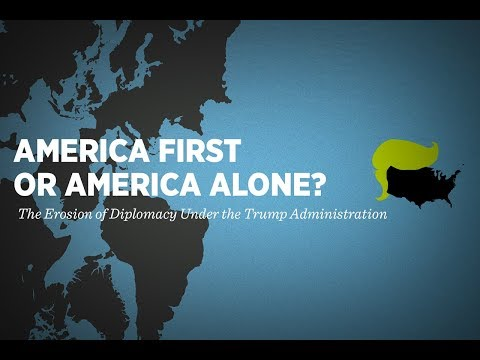 Breakout: America First or America Alone? The Erosion of Diplomacy Under the Trump Administration