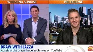 GOOD MORNING AUSTRALIA! Sunrise and Shine with Jazza!