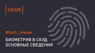 Биометрическая идентификация. Общие сведения