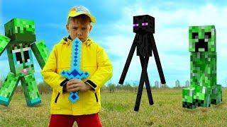 Рома и Хелпик нашли волшебный портал Игра Видео для детей kids children