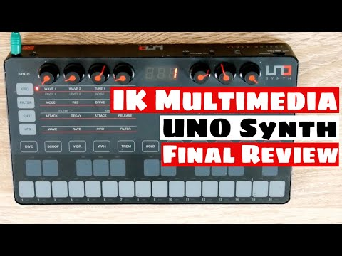 IK Multimedia UNO Synth Analog Synthesizer Final Review | SYNTH ANATOMY