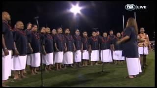 O Le Fu'a o Le Sa'olotoga o Samoa - Samoan National Anthem, Pacific Test 2013