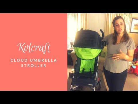 Kolcraft Cloud Umbrella Stroller Review – SSSVEDA Day 18