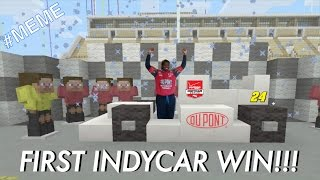 Indycar Minecraft Meme How To