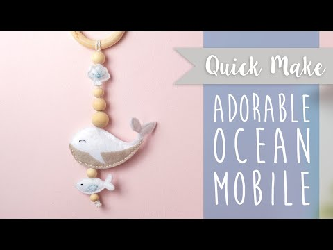 Ocean Friends Mobile - Sizzix