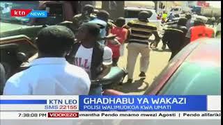 Wakazi wataka kumchoma moto dereva baada ya kuhusika kwenye ajali