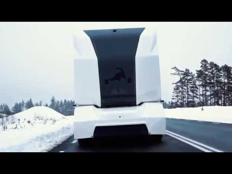0 - Шведские беспилотные грузовики появятся на дорогах этой осенью