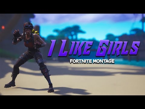 """I LIKE GIRLS"" - Fortnite Montage (PnB Rock & Lil Skies) - Chopstix"