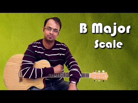 How To Play - B Major Scale - Guitar Lesson For Beginners
