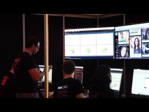 Get a tour of the RSA Security Operation Center