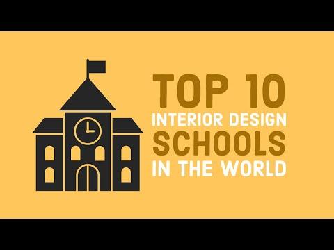 Top 10 Interior Design Schools in the World