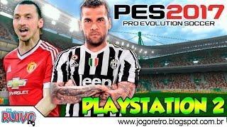 Pro Evolution Soccer 2017 (PES 2017 V1 TOP Games) no Playstation 2