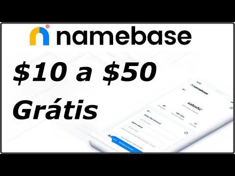Ganhe de $10 a $50 Dólares no Airdrop da Plataforma Namebase !!! Super Fácil ....