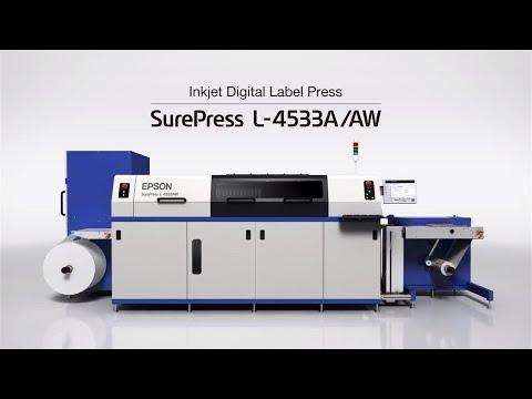 Epson SurePress L-4533AW | Experimente la Prensa digital de etiquetas y envases