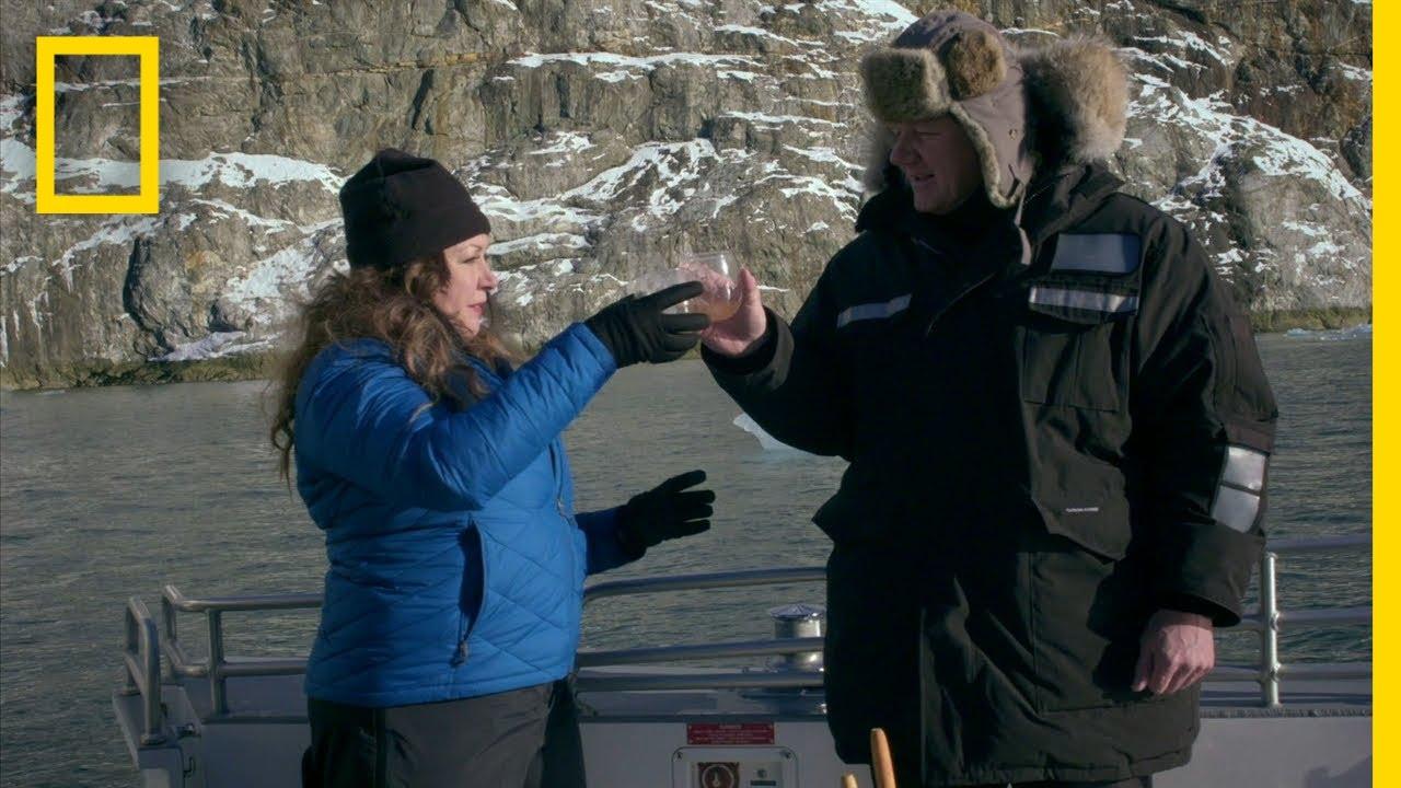 Gordon Ramsay Harvests Glacial Ice Cubes | Gordon Ramsay: Uncharted thumbnail