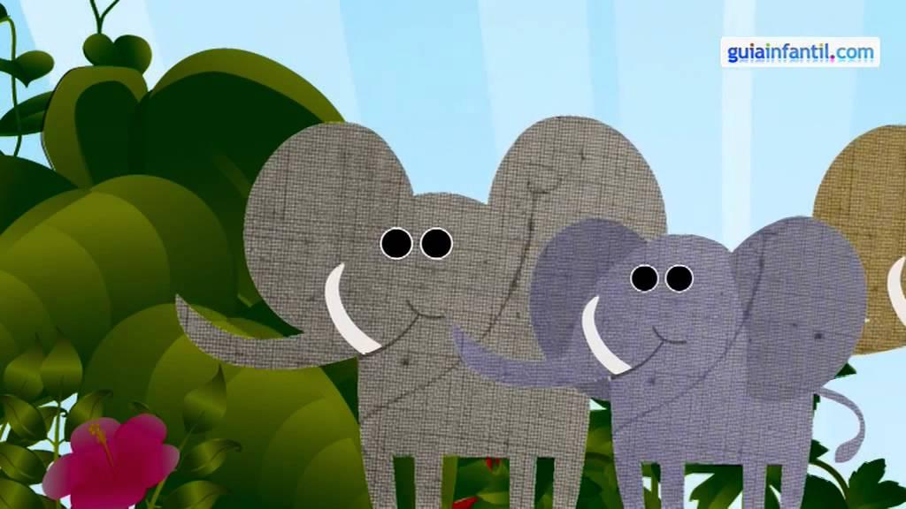 Un elefante se balanceaba, canción infantil, música niños