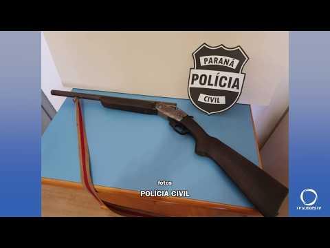 Preso acusado de praticar homicídio durante uma festa na localidade de Recanto Bonito