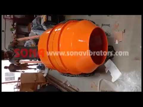 Mini Concrete Mixer 230 Ltr