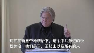 班农先生9日在当前危机委员会上的陈词总结发言
