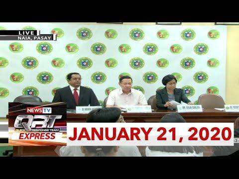 QRT Express: January 21, 2020 [HD]
