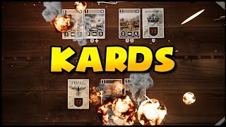 AWESOME New WWII Game! The WWII Collectible Card Game - KARDS Gameplay