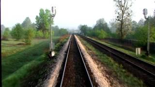 preview picture of video 'Rear Cabview (z dźwiękiem!) TLK 27100 Hetman Zamość - Stalowa Wola Rozwadów'