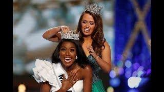 Miss New York Nia Imani Franklin wins Miss America pageant