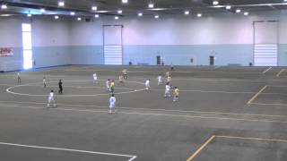 preview picture of video 'CSMRO Griffons MU14AA 3 Pre-Season Matches St-Hyacinthe Feb 10 2013'