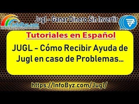 Jugl-Soluciones de Problemas con soporte de Jugl Is¡nstrucciones en Español