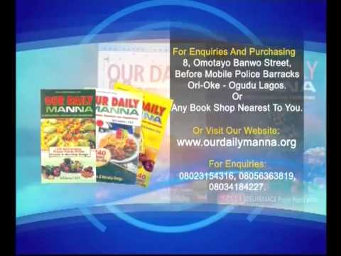 Video of Our Daily Manna Mobile