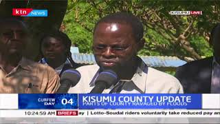 Governor Anyang\' Nyong\'o says Kisumu county will waiver market fees for one month