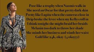 Beyonce, Blue Ivy   Brown Skin Girl (Lyrics) Ft. Wizkid & Saint Jhn