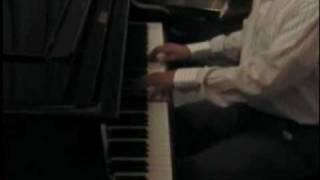 Cancion a Paola, José Sabre Marroquin; Cesar Octavio Hernández, Piano..avi