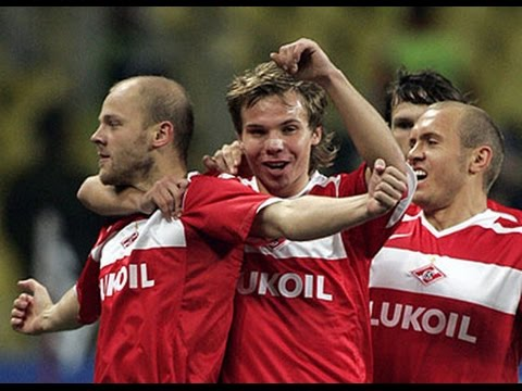 СПАРТАК - Спортинг (Лиссабон, Португалия) 1:1, Лига Чемпионов - 2006-2007 видео