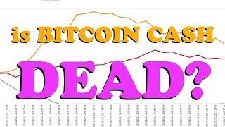 is BitcoinCash (BCH) DEAD? - BCHABC vs. BCHSV - BCH Forked to Death?