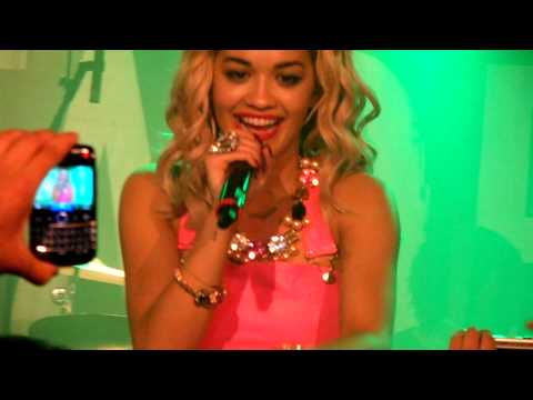 [HD] Rita Ora - Radioactive (Live at Manchester Sound Control 29/08/12)