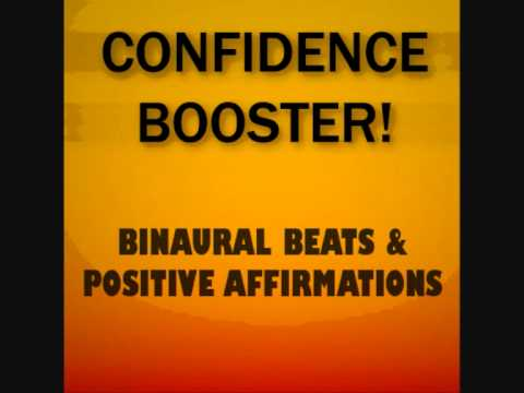 Confidence Booster! Binaural Beats + Positive Affirmations – Reprogram Your Mind
