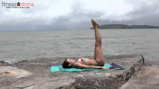 Смотреть онлайн 3 упражнения как избавиться от ушек на бедрах