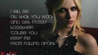 I Will Be - Avril Lavigne (lyrics)