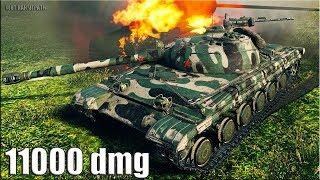 Объект 430 (9 лвл) 🌟 11000 dmg 🌟 как играют ТОП статисты World of Tanks лучший бой на ст 9 уровень